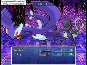 Pokemon RPG Final Boss vs Shadow Lugia + Shadow Mewtwo ...