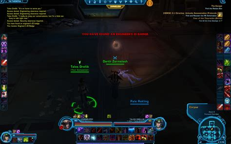 Swtor Pazaak Deck Quest by Hk 51 Companions Details For All Classes