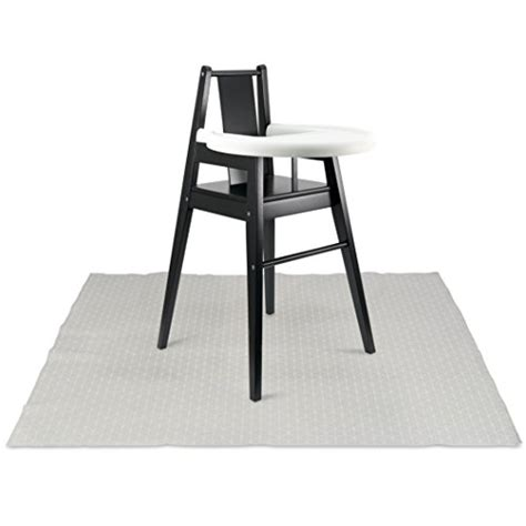 high chair splat mat walmart sophisticated splat mat by honeyed modern scallops