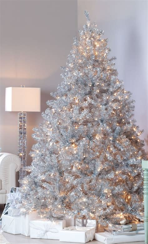 amazing silver design christmas tree christmas trees