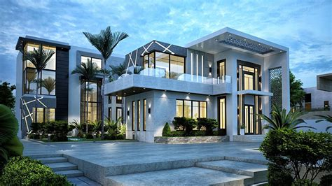 exterior villa design services company  dubai uae