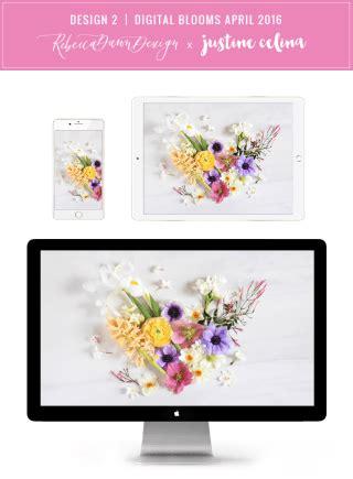 digital blooms march 2018 free desktop wallpapers justinecelina digital blooms january 2018 free desktop wallpapers