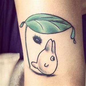 Des tatouages Totoro! | Le blog d'Emma Karena