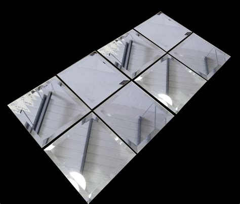 Three Way Bathroom by Decorative Mirror Tiles For Homes Homesfeed