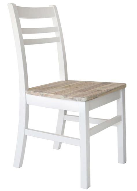 white wooden dining chairs pair blakeney white