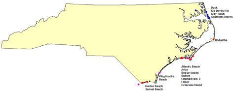 holden beach north carolina map