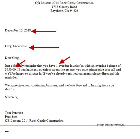 collection letter to client sending collection letters quickbooks 20887 | collection letters 6