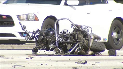 Miami Police Motorcycle Officer Killed In Crash At