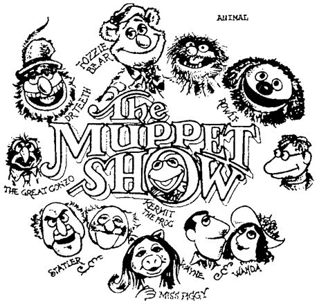muppet show dr teeth fozzie bear great gonzo wayne