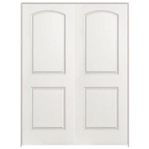 home depot 2 panel interior doors masonite 48 in x 80 in smooth 2 panel top