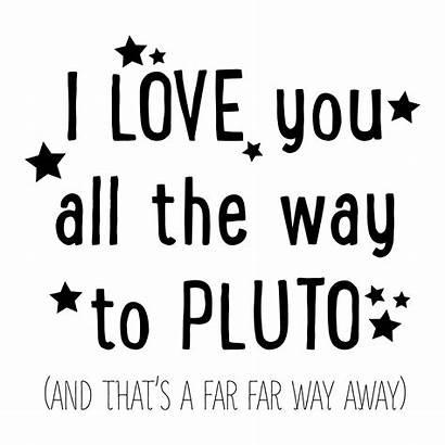 Pluto Wall Quotes Decal Way Wallquotes Away