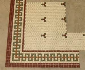 Mosaic Floor Tile Border
