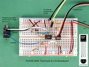 How To Build A Thermostat With A Picaxe