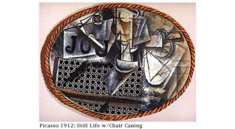 Picasso Still Chair With Caning Collage by Modern Is Rubbish Revolutionising The Image Style