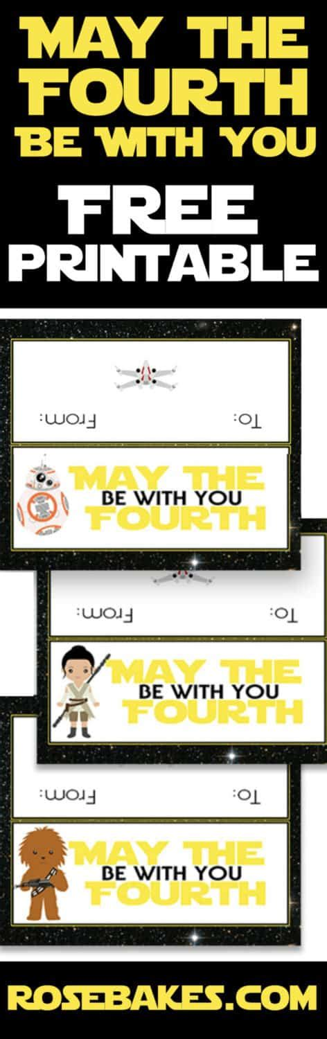 Happy star wars day!incredible thanks to mediated productions for producing this video, jonny pottins. Light Saber Cookie Sticks + May the Fourth be With You Free Printable! - Rose Bakes