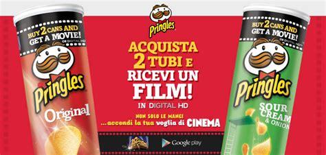 pringles movie night film gratis premio sicuro