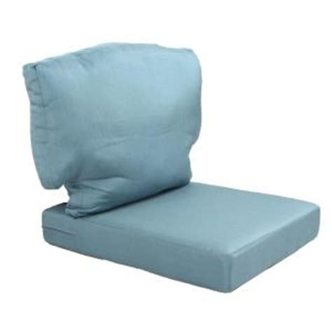 martha stewart living charlottetown washed blue replacement outdoor chair cushion 89 65601 the