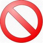 Icon Sign Stop Icons Entry Forbidden Cancel