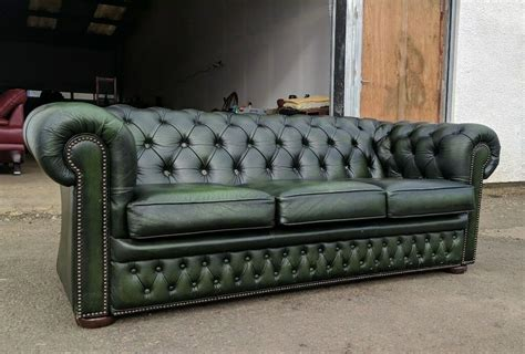 green settee antique green chesterfield sofa settee delivery