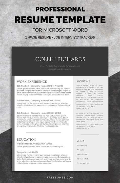 top rated resume templates 50 best resume templates design graphic design junction 25305 | plain but trendy resume template