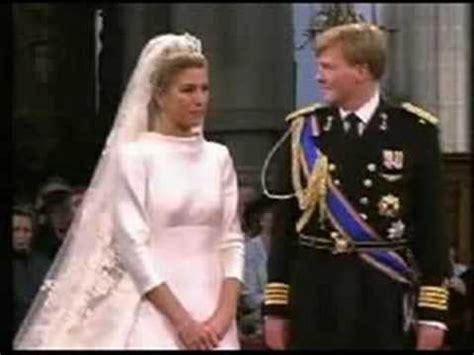 wedding vows prince willem alexander princess maxima