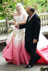 why angelina jolie39s wedding dress designer stands to make With gwen stefani wedding dress