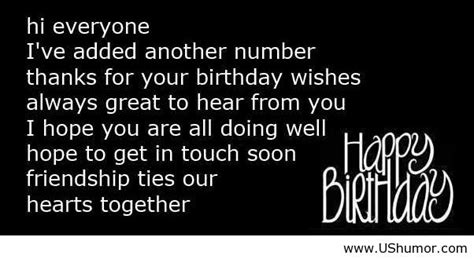 Birthday Wishes Reply Quotes Funny