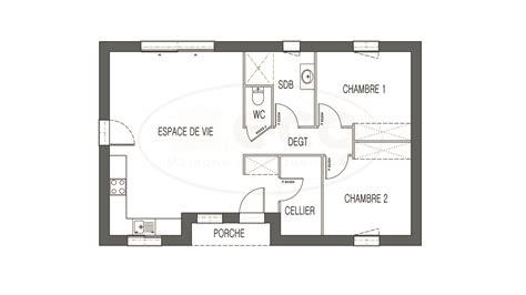 superficie chambre maison astriée 2 ch