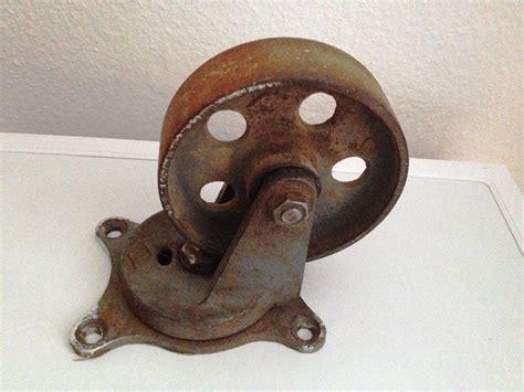 Eisenräder Für Möbel by Gro 223 Es Antikes Eisenrad M 246 Belrolle Eisenrolle R 228 Der Shabby