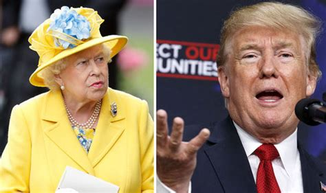 The Queen Warned Ahead Of Royal Meeting With Donald Trump
