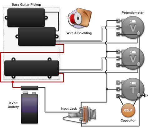 bass wiring diagram guitar rigging bass