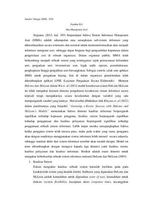 Analisis Efektivitas Sistem Informasi Manajemen Aset Lahan