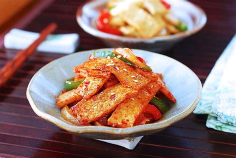 eomuk bokkeum stir fried fish cake korean bapsang