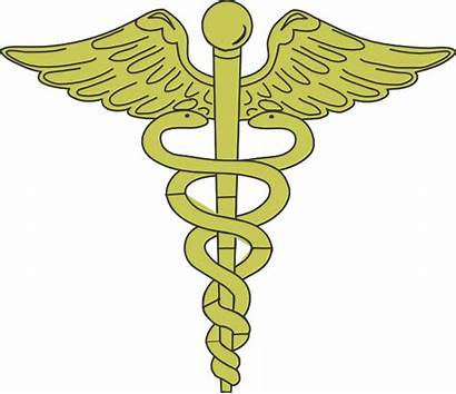 Caduceus Gold Clip Symbol Nurse Nursing Clipart