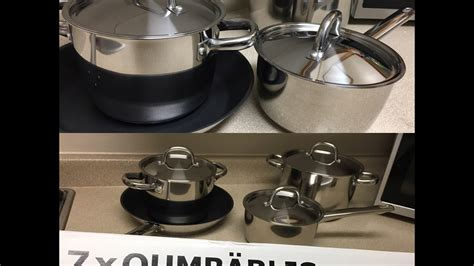 ikea pots pans kitchen stove hobo unboxing camping cook diy