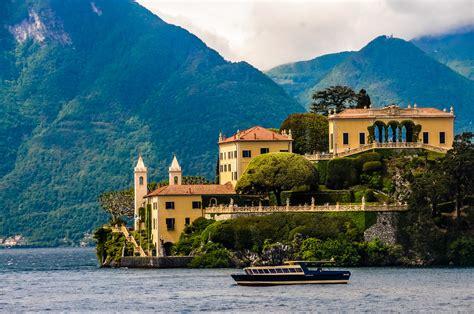 Villa Del Balbianello On Lake Como Italy Villa Del