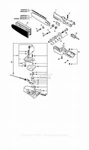 Echo Ppt-2400 Type 1e Parts Diagram For Gear Case  Auto-oiler  Guide Bar  Chain S  N  001001