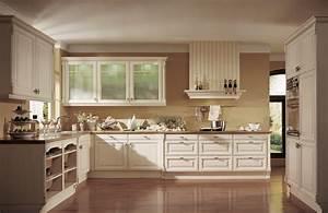 Tapete Küche Landhaus : praktische k chen f r das kleine budget p sentiert vom ~ Michelbontemps.com Haus und Dekorationen