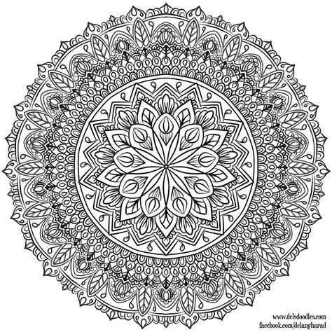 Coloring Krita by Krita Mandala 33 By Welshpixie On Deviantart