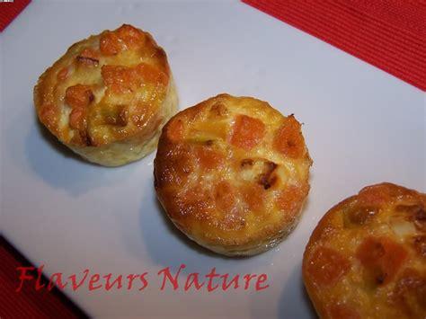 comment cuisiner les patates douces recettes mini flans de patate douce bouchées apéritives