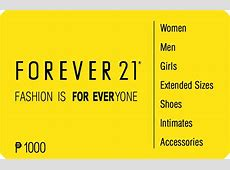 the fash pack forever 21 gift cards