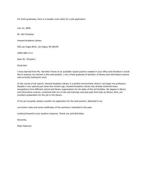 resume letter cover  job  business sample