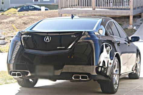 #laminx #charcoal On The Taillights Of #acura #tl