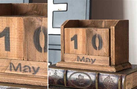 wooden block calendar block calendar wooden blocks wooden