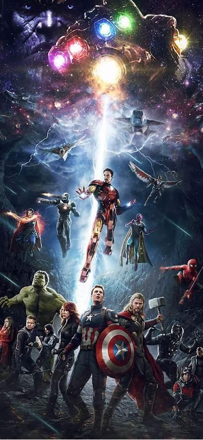 Iphone Avengers Marvel Hero Infinitywar Wallpapers