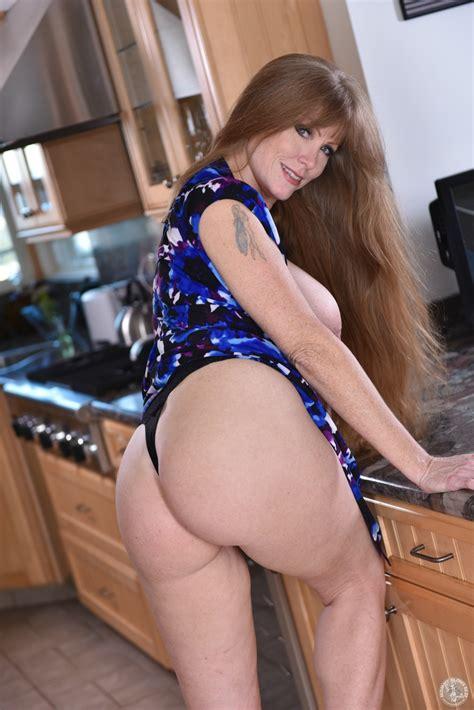 Hot Milf Is Busy In The Kitchen MILF Fox