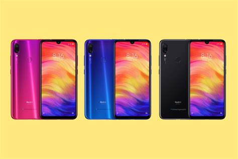 xiaomi redmi note 7 and note 7 pro india renders leak
