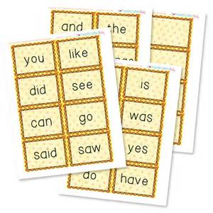 7 best images of free printable sight word flash cards