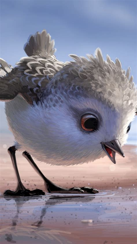 wallpaper piper bird pixar movies