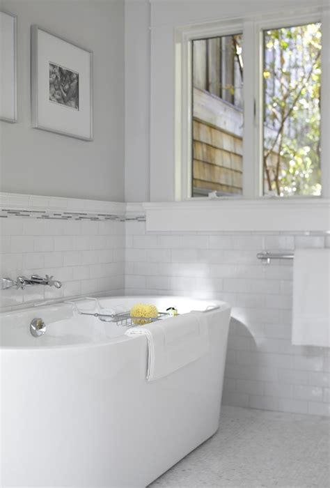 bathtub tile surround bathroom traditional with black and